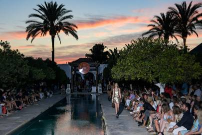 The Atzaro hotel's 15th anniversary fashion show