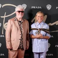 Pedro Almodóvar and Miuccia Prada