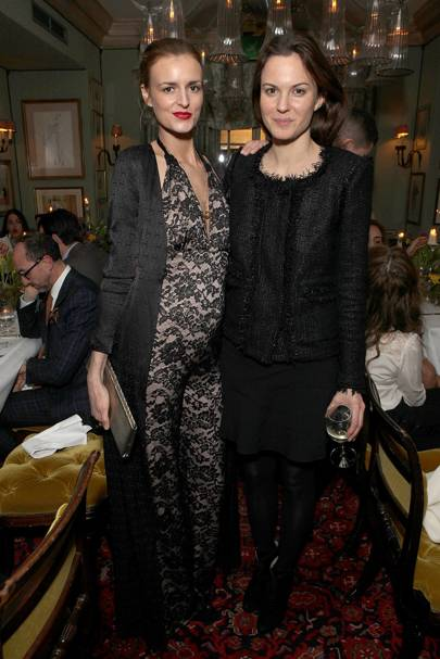 Jacquetta Wheeler and Fran Hickman