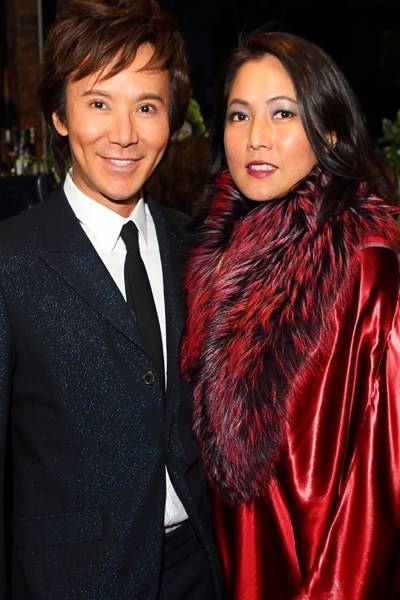 Andy Wong and Patti Wong