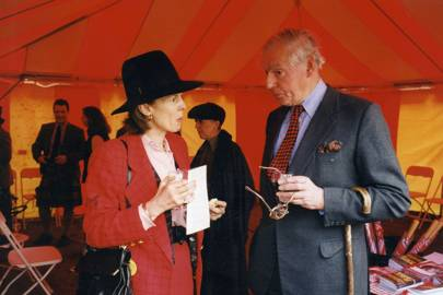 Mrs Harry Robertson and Ronnie Thorburn