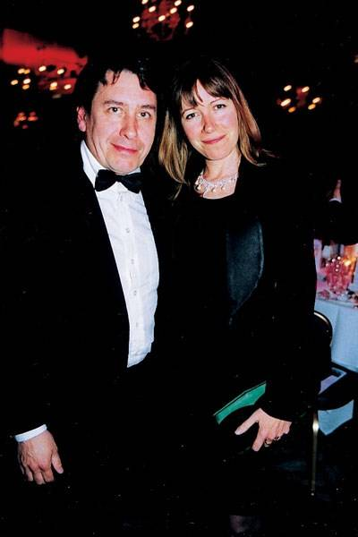 Jools Holland and Christobel McEwen