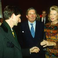 Count Manfredi della Gherardesca, Paul Channon and Mrs Andrew Sinclair
