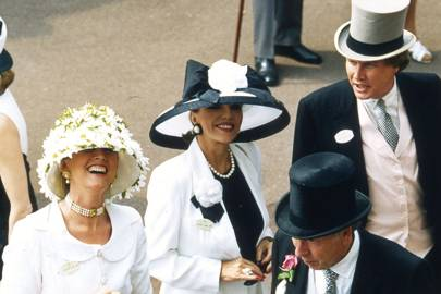 Mrs Theo Fennell, Joan Collins and Theo Fennell