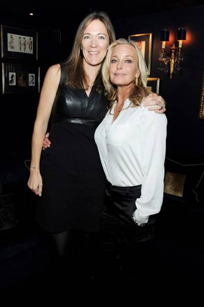 Emilie De Vitis and Bo Derek