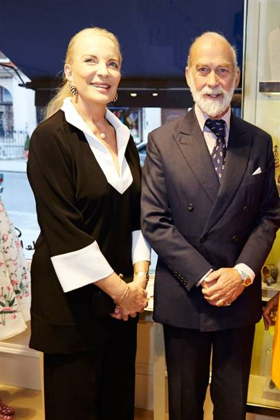 Princess Michael of Kent and Prince Michael of Kent