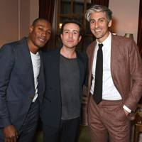 Tafari Hinds, Nick Grimshaw and George Lamb