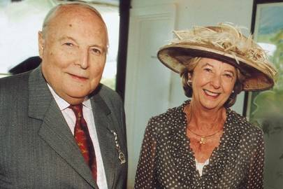 The Duke of Richmond and Gordon and Lady Nicholas Gordon Lennox