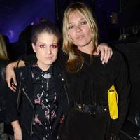 Kelly Osbourne and Kate Moss