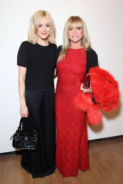Fearne Cotton and Jo Wood