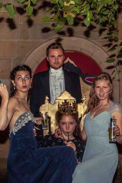 Rebecca Meltzer, Harry Castle, Lucy Newton and Hatty Ekberry