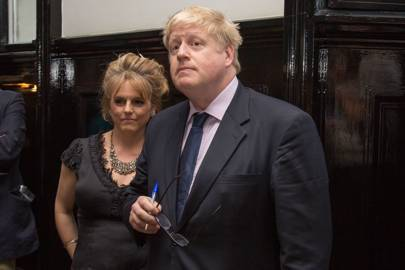 Rachel Kelly and Boris Johnson