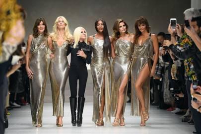 Versace at Milan Fashion Week S/S18