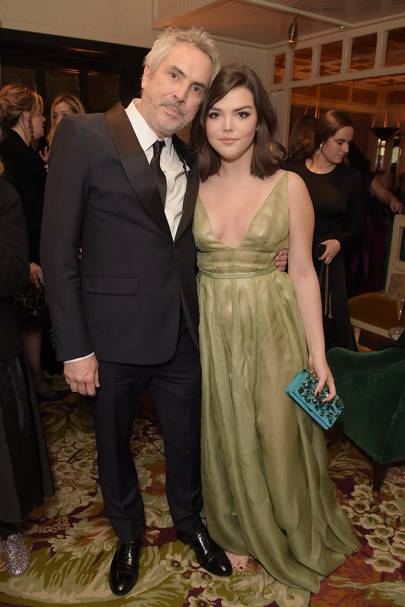 Alfonso Cuarón and Tess Bu Cuarón