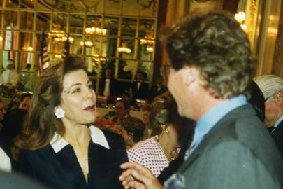 Princess Firyal of Jordan and Prince Ernst of Hanover