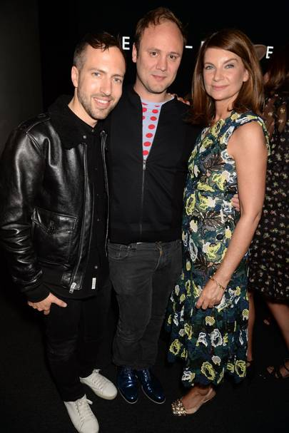 Peter Pilotto, Nicholas Kirkwood and Natalie Massenet
