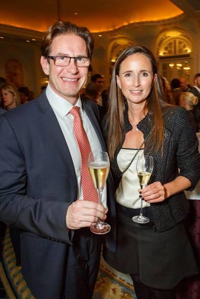 Richard Billett and Juliet Fallowfield