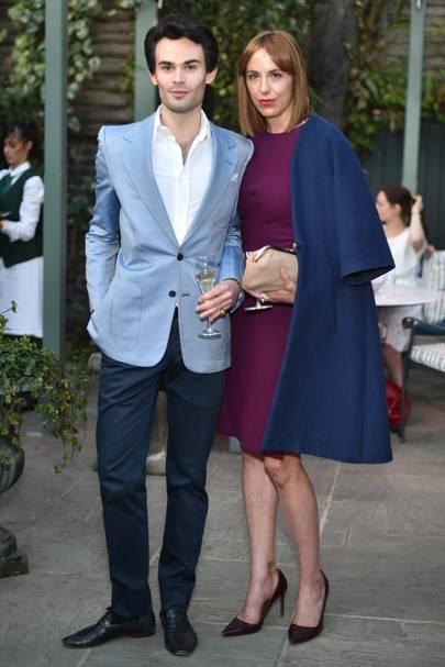Mark-Francis Vandelli and Vanessa Arelle
