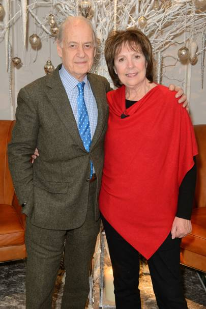 Penelope Wilton and Sir John Standing