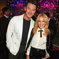 Luke Evans and Kylie Minogue