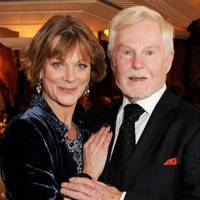 Samantha Bond and Sir Derek Jacobi