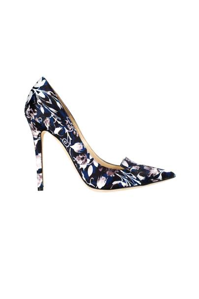 Satin shoes, £645, by Jimmy Choo