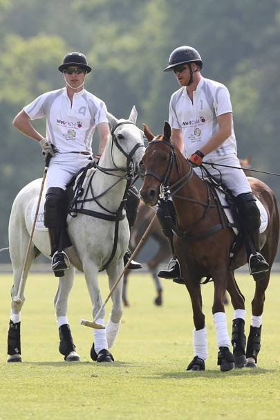 Duke of Cambridge and Prince Harry