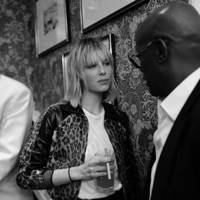 Edie Campbell and Charles Aboah