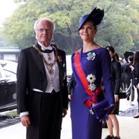 King Carl XVI Gustaf and Crown Princess Victoria of Sweden