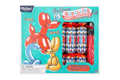 Ridley's Balloon Modelling Party crackers