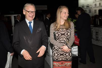 Lord Deben and Cordelia Selwyn-Gummer