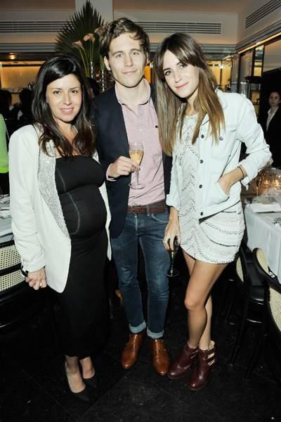 Alejandra Dibos, Harrison Cox and Gala Gonzalez