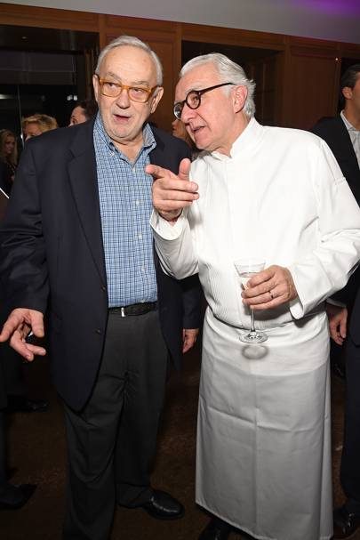 Pierre Koffmann and Alain Ducasse