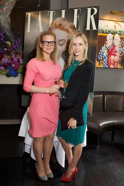 Alice Jónsdóttir Ferrier and Nadya Abela
