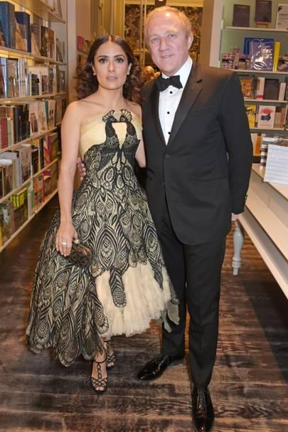 Salma Hayek and Francois-Henri Pinault