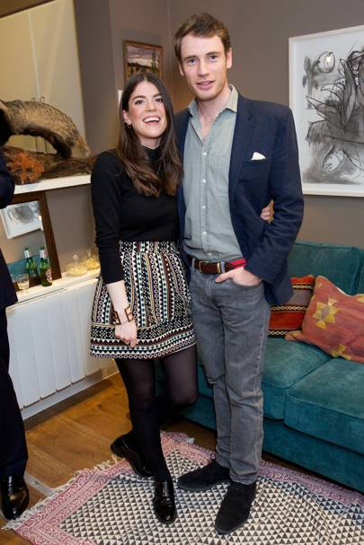 Portia Lesley and Oliver Holcroft