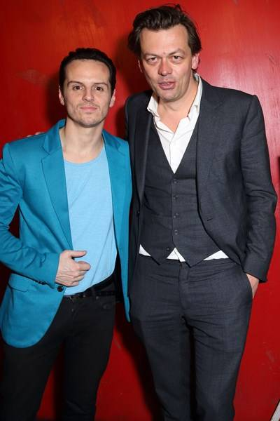 Andrew Scott and Simon Stephens