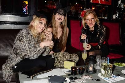 Miranda Lerner, Briony Daniels and Laura Boscawen