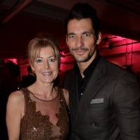 Emma Willis and David Gandy