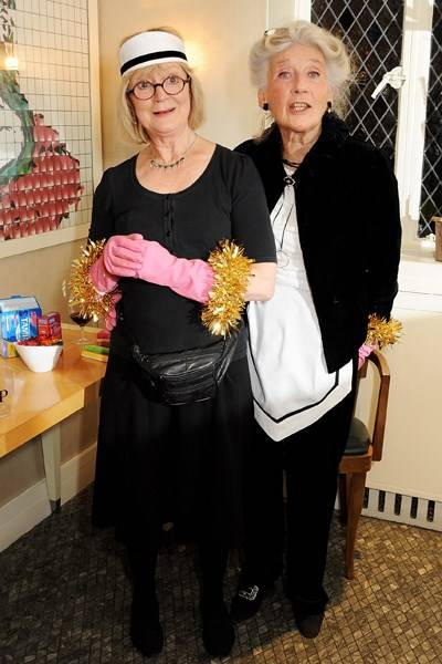 Joanna David and Phyllida Law