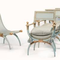 A set of chairs from the Windsor Suite