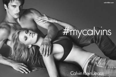 Lara Stone for Calvin Klein