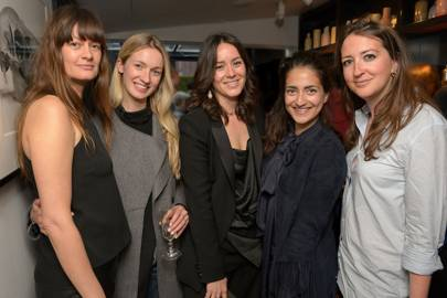Heather Gramston, Tilly Macalister-Smith, Alex Eagle, Nura Khan and Verity Parker