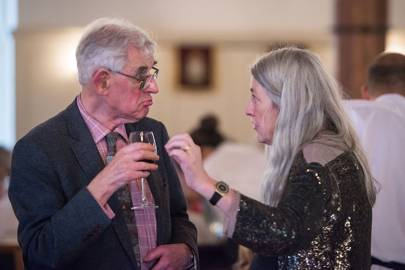 Eric Stanley and Mary Beard
