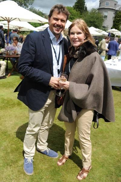 Mark Stewart and Helen Stewart
