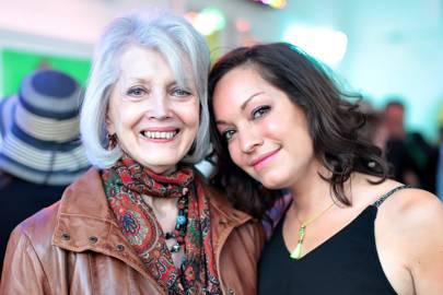 Gayle Hunnicutt and Natasha Archdale
