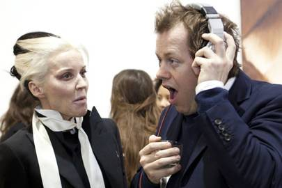Daphne Guinness and Tom Parker Bowles