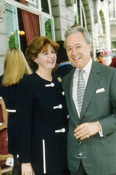 Mrs Charlie Farr and Duncan McLaren