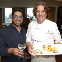Ryan Chetie and Giorgio Locatelli