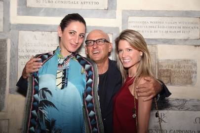 Alexandra Farah, Andrea Panconesi and Helena Bordon